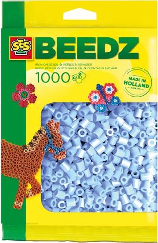 SES - Strijkkralen 1000 stuks Lichtblauw