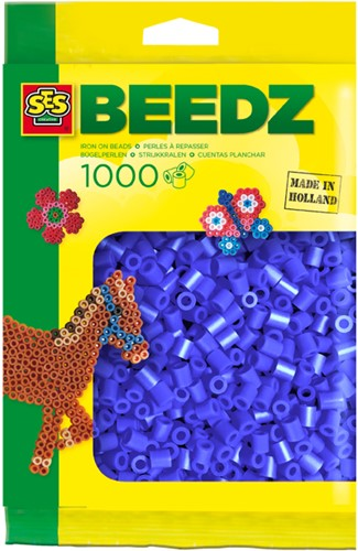 SES - Strijkkralen 1000 stuks Donkerblauw