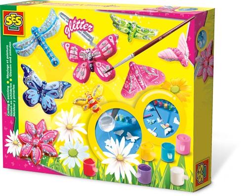 SES - Vlinders Gieten en Schilderen