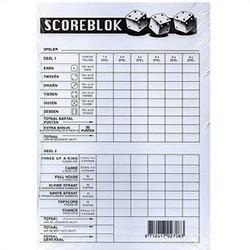 Scoreblok Yahtzee