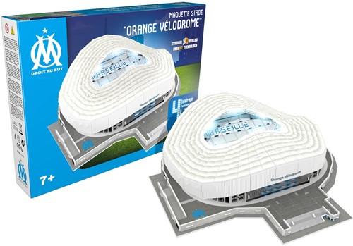 Olympique Marseille - Orange Velodrome LED 3D Puzzel (159 stukjes)