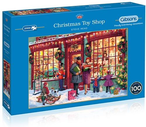 Christmas Toy Shop Puzzel (2000 stukjes)