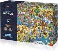 Wonderful World Puzzel (1000 stukjes)