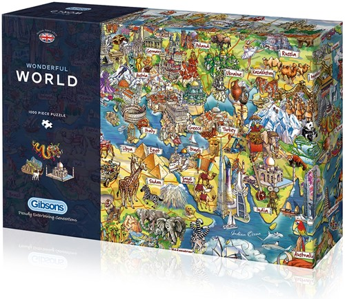 Wonderful World Puzzel (1000 stukjes)