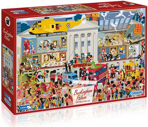 Lifting the Lid, Buckingham Palace Puzzel (1000 stukjes)