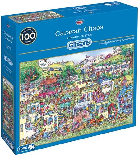 Caravan Chaos Puzzel (1000 stukjes)