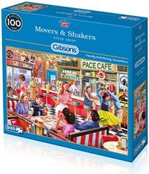 Movers & Shakers Puzzel (500 stukjes)