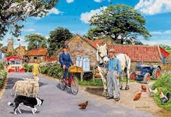 Olive House Farm Puzzel (100 XXL)