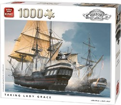 Taking Lady Grace Puzzel (1000 stukjes)