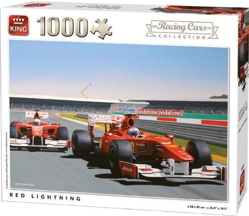 Red Lightning Puzzel (1000 stukjes)
