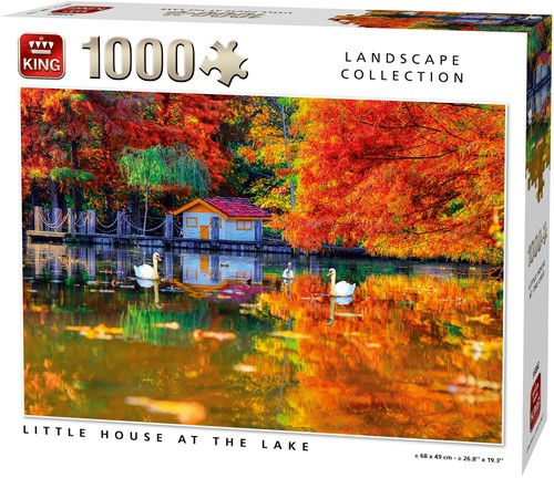 Little House At The Lake Puzzel (1000 stukjes)