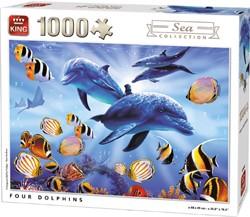 Four Dolphins Puzzel (1000 stukjes)