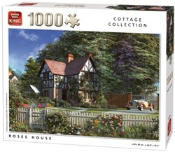 Roses House Puzzel (1000 stukjes)
