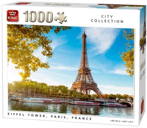 Eiffeltoren Parijs Puzzel (1000 stukjes)