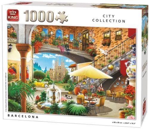Barcelona Puzzel (1000 stukjes)