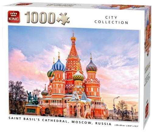 Saint Basils Cathedral, Moscow Puzzel (1000 stukjes)