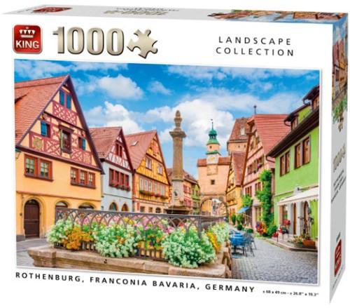 Rothenburg, Franconia Bavaria Puzzel (1000 stukjes)