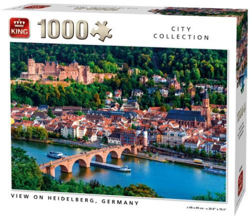 View of Heidelberg Puzzel (1000 stukjes)