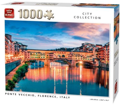 Ponte Vecchio, Florence Puzzel (1000 stukjes)