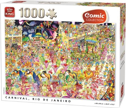 Comic - Rio de Janeiro Carnaval Puzzel (1000 stukjes)