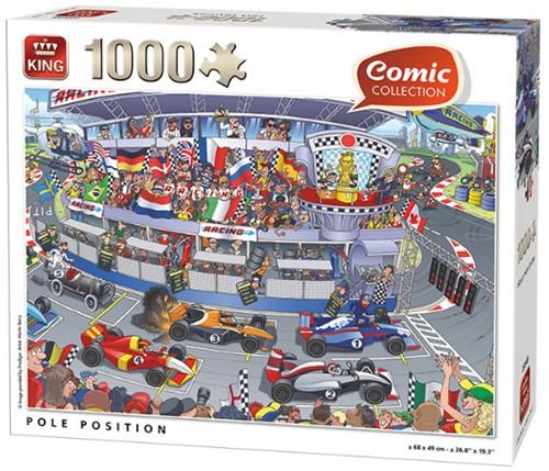 Pole Position Puzzel (1000 stukjes)