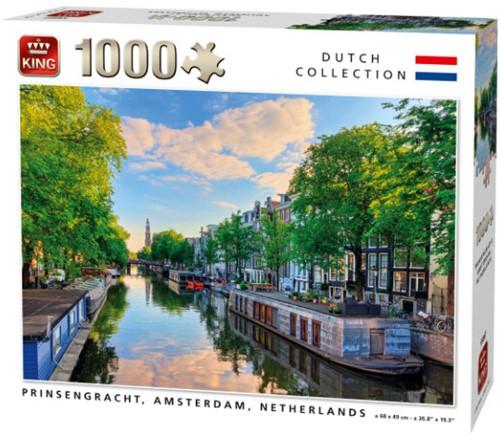 Prinsengracht, Amsterdam Puzzel (1000 stukjes)