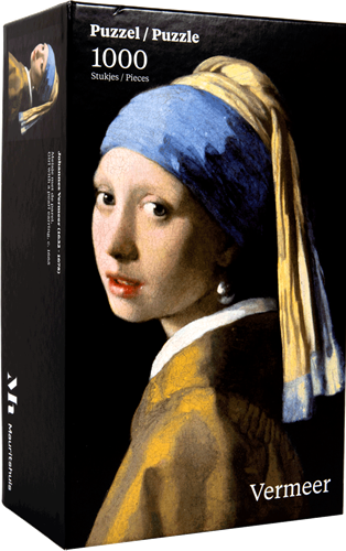 Meisje met de Parel - Johannes Vermeer Puzzel (1000 stukjes)