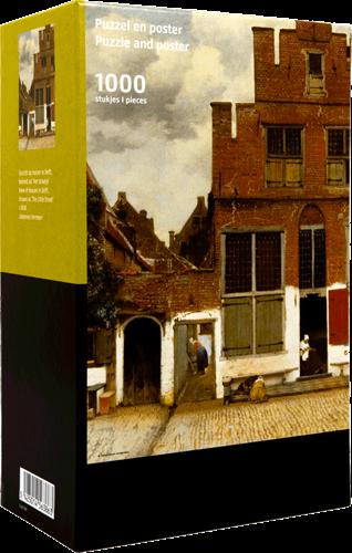 Het Straatje - Johannes Vermeer Puzzel (1000 stukjes)