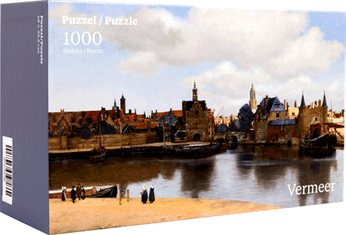 Gezicht op Delft - Johannes Vermeer Puzzel (1000 stukjes)