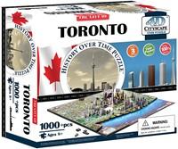 4D City Puzzel - Toronto (1000 stukjes)-1