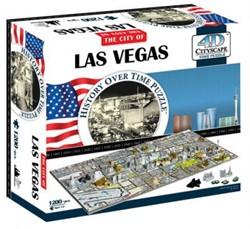 4D City Puzzel - Las Vegas (930 stukjes)