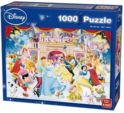 Disney Holiday on Ice Puzzel