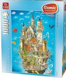 Neuschwanstein Comic Puzzel (1000 stukjes)