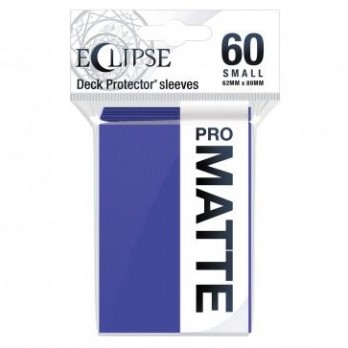 Sleeves Eclipse Matte Small - Paars (62x89 mm)