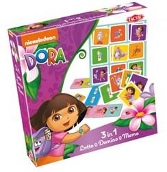 Dora 3-in-1 spel