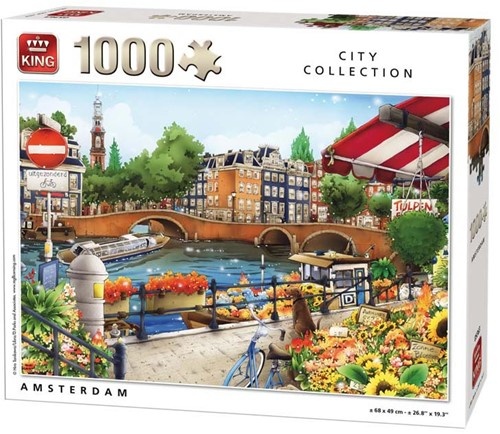 Amsterdam Puzzel (1000 stukjes)
