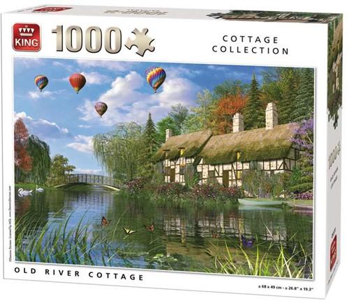 Old River Cottage Puzzel (1000 stukjes)