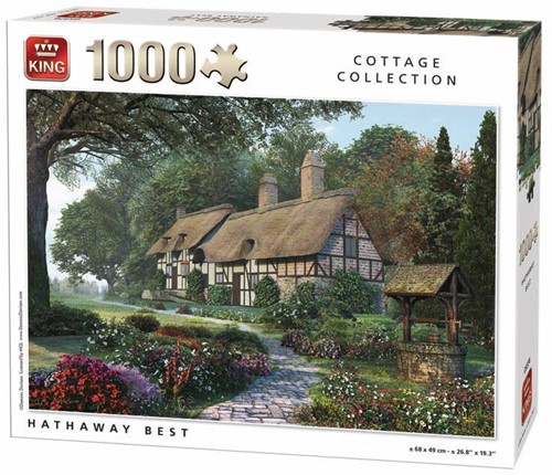 Hathaway Best Puzzel (1000 stukjes)