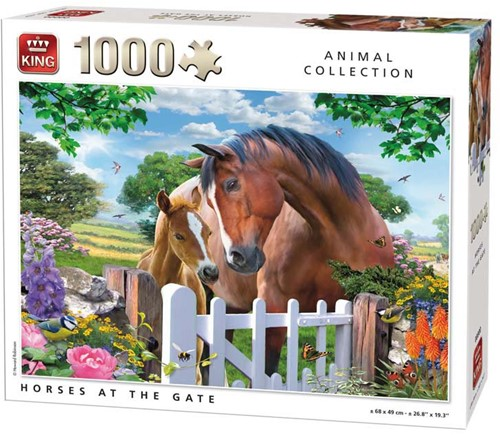 Horses at the Gate Puzzel