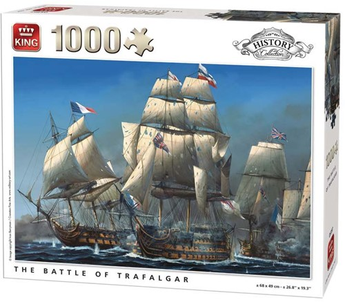 The Battle of Trafalgar Puzzel (1000 stukjes)