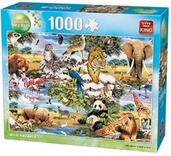 Wild Animals Puzzel (1000 stukjes)