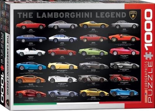The Lamborghini Legend Puzzel (1000 stukjes)