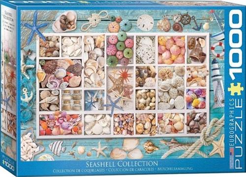 Seashell Collection Puzzel (1000 stukjes)