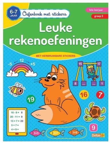 Oefenboek - Leuke Rekenoefeningen 6-7 jaar