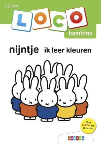 Loco Bambino Boekje - Nijntje Ik Leer Kleuren