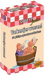 Quiz It Junior - Varkentje Wassen