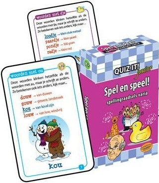 Quiz It Junior - Spel en Speel
