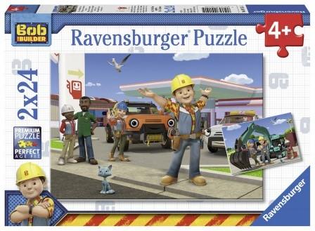 Bob de Bouwer Puzzel (2 x 24 stukjes)