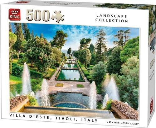 Villa D'este Tivoli Italy Puzzel (500 stukjes)