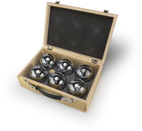 Jeu de Boules in houten doos